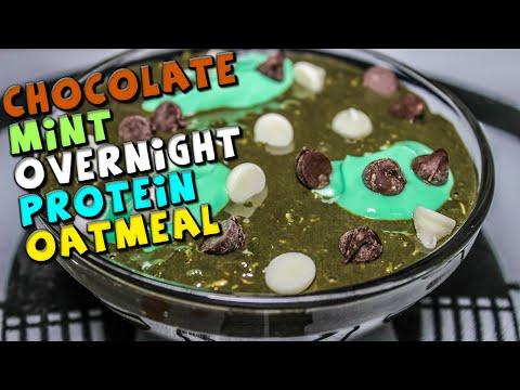 chocolate-mint-overnight-protein-oatmeal-recipe