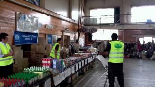 東日本大震災支援活動、石巻市湊小学校ボランティア活動