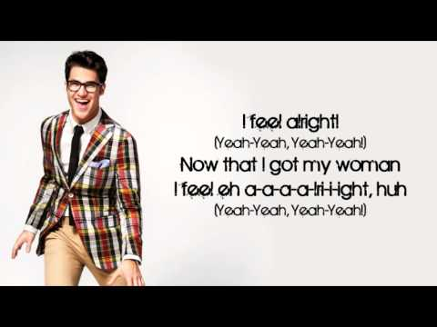Glee - Shout (Lyrics)