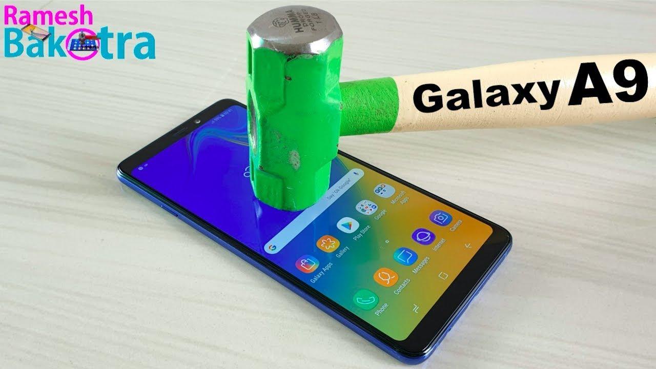official photos b2159 5c50b Samsung Galaxy A9 (2018) Screen Scratch Test