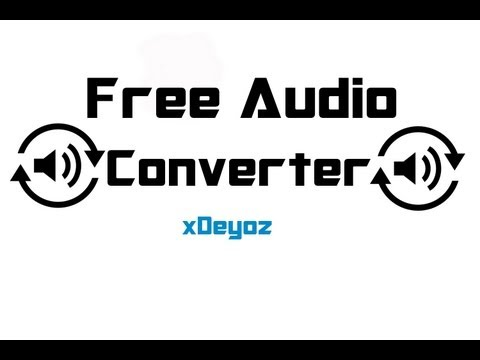 "How to do ""Audio Converter"" (mp3,wav,wma usw.) FREE - Tutorial [German] [HD]"