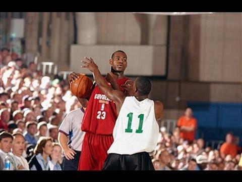 LeBron James' 2003 Summer League Highlights
