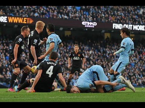Barclays Premier League 2014/2015 - Manchester City vs Hull City (2-1)