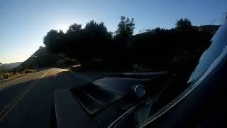 CHEVY NOVA TAKES THE MOUNTAIN ROUTE WINDY DAY NO MOTOR SOUND