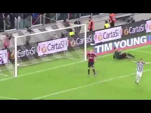 Mirko vucinic goal against milan coppa italia 2011