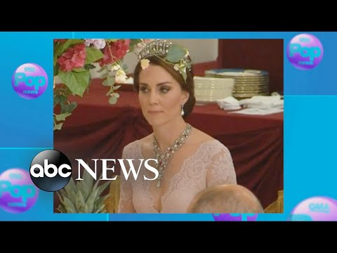 Thumbnail: Princess Kate stuns in one of Princess Diana's favorite tiaras