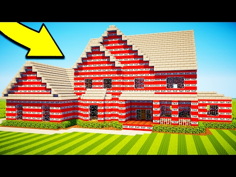 Thumbnail: 10 WAYS TO DESTROY YOUR FRIENDS HOUSE IN MINECRAFT!
