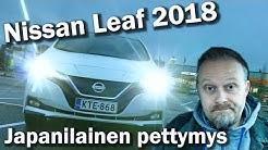 Sähköautoa etsimässä - Nissan Leaf 2018, japanilainen pettymys