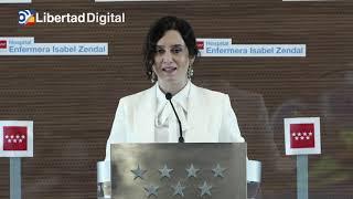 Ayuso inaugura el Isabel Zendal: