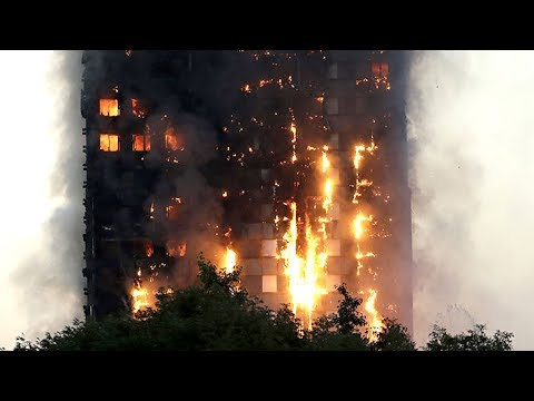 London fire: how survivors escaped the inferno