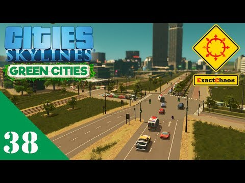 Cities Skylines Green Cities Let's Play 38 - Heather Park Expansion