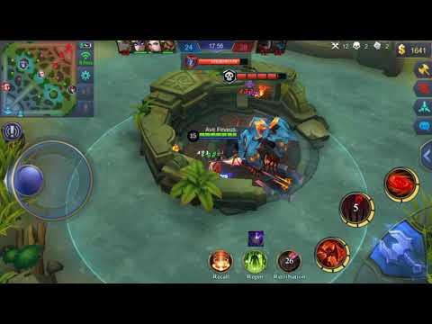 Alice Build MM Kill Lord - Mobile Legends