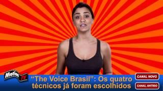 The Voice Brasil: Apresentador Tiago Leifert - Técnicos Claudia, Carlinhos Brown, Lulu e Daniel
