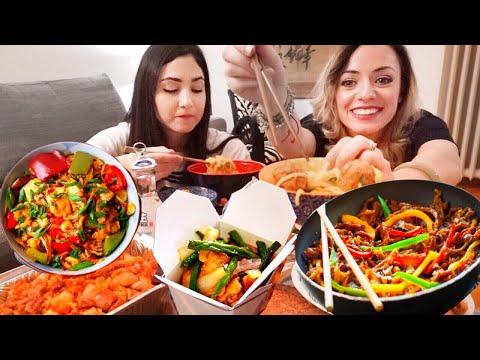 MUKBANG SOLO CIBO CINESE - CHINESE FOOD 먹방 per il mio compleanno!