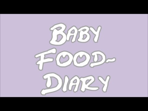 FOOD DIARY │ Baby 10 Monate