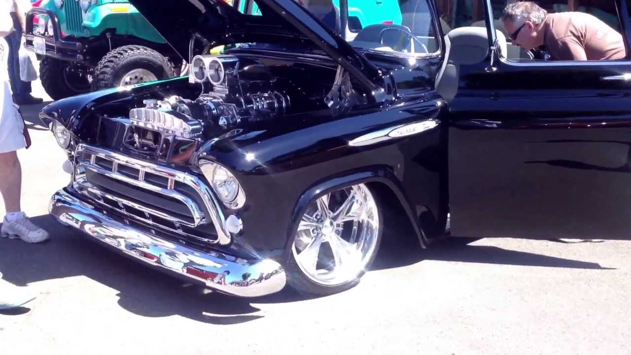 Blown Cars Wallpaper Must See Blown Big Block Pro Touring 1955 1 2 Ton Chevy