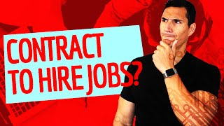 Should You Consider A Contract To Hire Job?