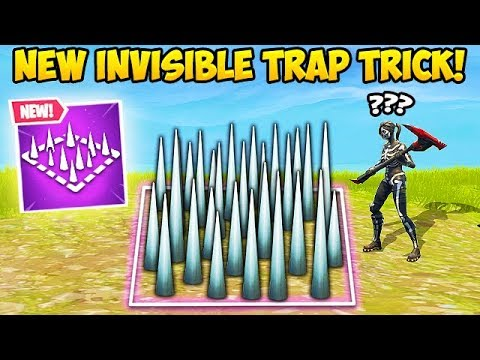 *EPIC TRICK* MAKE TRAPS INVISIBLE! - Fortnite Funny Fails and WTF Moments! #355