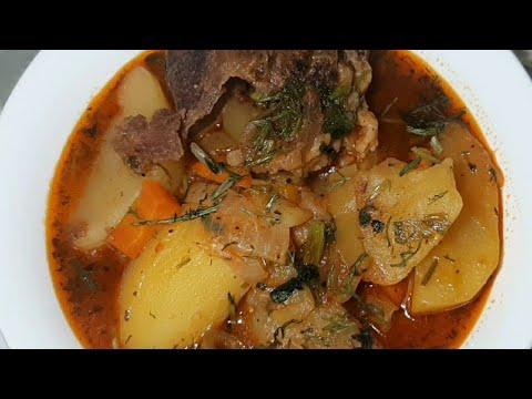 Очень вкусный суп - Соус с говядиной! Армянская кухня🥰🥰