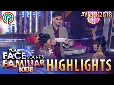 YFSF Kids 2018 Highlights: Esang At Francis, Nagharap Sa Singing Spelling Challenge