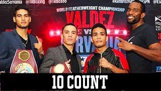 Oscar Valdez and Gilberto Ramirez Defend Their Titles on ESPN - 10 Count