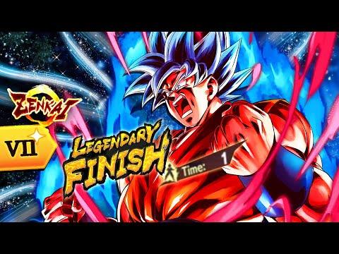 """""""Corpo...Non Abbandonarmi!"""" Kaioken x1000! Goku BLU Kaioken SHOWCASE Dragon Ball Legends ITA!"""