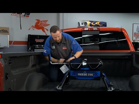 The Reese® M5 Fifth Wheel Hitch Featured on Motorhead Garage