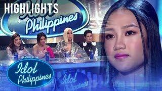 Idol Judges, pinaalalahanan ang performance ni Sheland | Live Round | Idol Philippines 2019