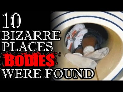 10 Strangest Places BODIES Were Found | TWISTED TENS #34