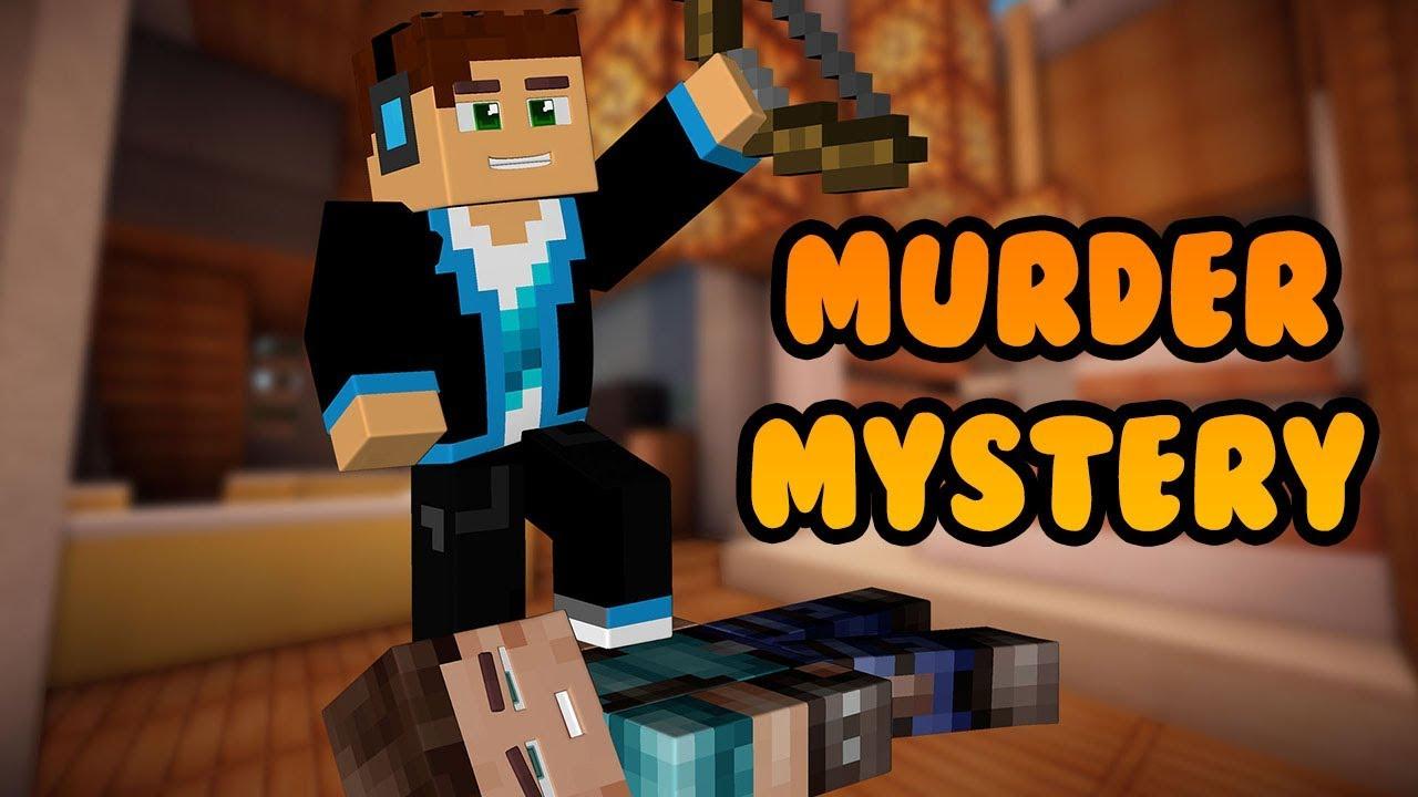 NIEWIDZIALNY ZABÓJCA?! MINECRAFT MURDER MYSTERY #25