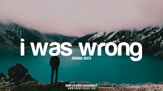 """I was wrong"" - Emotional & Sad Hip Hop Beat Instrumental (Prod: Danny E.B)"