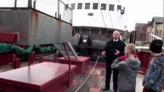 Grimsby deep sea trawler Ross Tiger