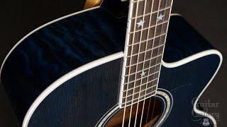 Taylor 615c Custom Blue Guitar by Guitar Gallery