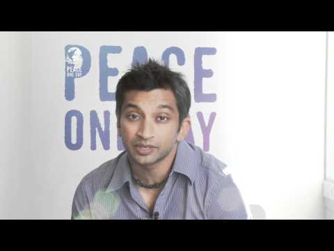 Narain Karthikeyan, Formula 1 Racing Driver for Hispania Racing, supports Global Truce 2012