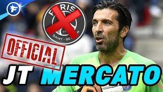 OFFICIEL : le PSG annonce le départ de Gianluigi Buffon | Journal du Mercato