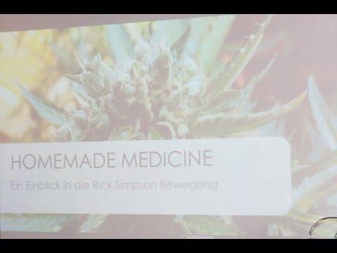 """Homemade Medicine – Rick Simpsons Cannabisöl"" - Von Dani Ja - Mary Jane Berlin 2016"