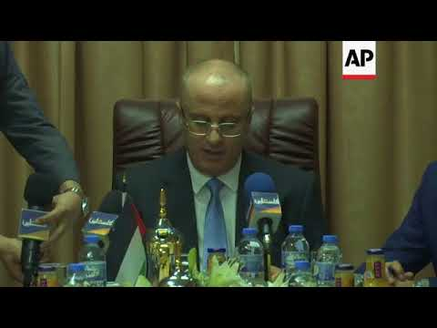 Palestinian ministers meet in Gaza for first in a decade