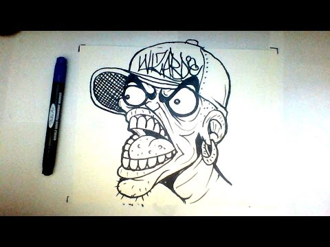 Learn To Draw Graffiti Character
