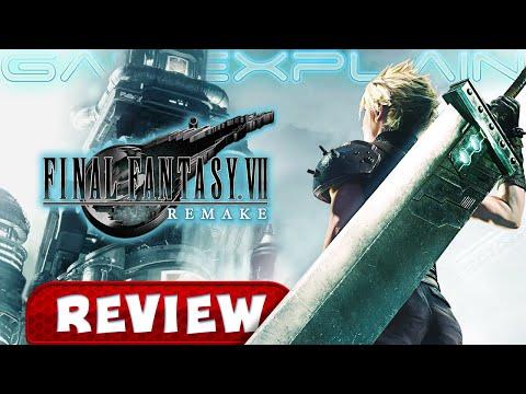 Final Fantasy VII Remake - REVIEW (Spoiler Free + 4K!)
