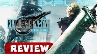 Final Fantasy VII Remake - REVIEW (Spoiler Free + 4K!) (Video Game Video Review)
