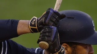 Matt kemp honors kobe bryant's final game by wearing special batting gloves in his at-batcheck out http://m.mlb.com/video for our full archive of videos, and...