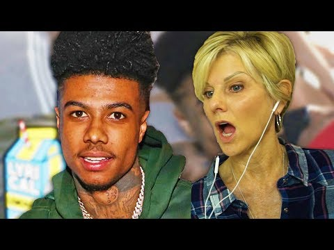 Mom REACTS to Blueface - Thotiana Remix ft YG Dir by ColeBennett