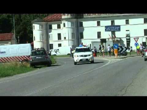 Partenza da Villafalletto e passaggio dopo 20 km  a Caraglio