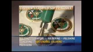 Смотреть видео изготовление значков из металла