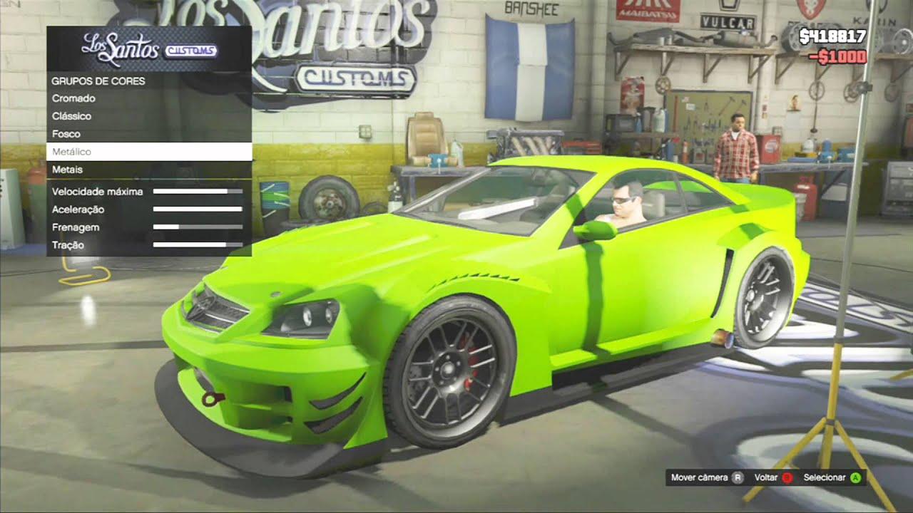 Tunando Veículos GTA 5