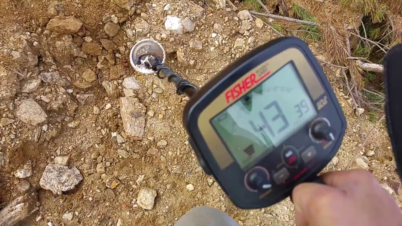Find gold nugget with quartz 8,45 gram with a metal detector Fisher Gold Bug - YouTube