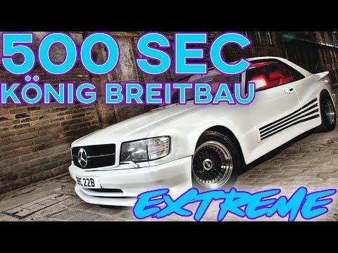 Mercedes 500 SEC EXTREME Widebody - König Breitbau