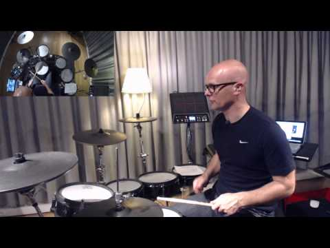 178bpm = dope! (live drum'n'bass drumming with MSchack)