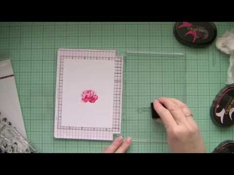 How to make your own stamping tool | stamp positioner used with Altenew Stamps and Inks