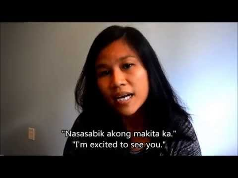 Learn Tagalog (Filipino) Conversation 3: Romantic Expressions, I love you, English Tagalog subtitles